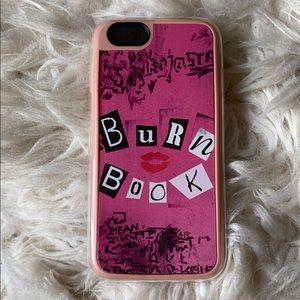Burn Book Mean Girls iPhone 6s Case